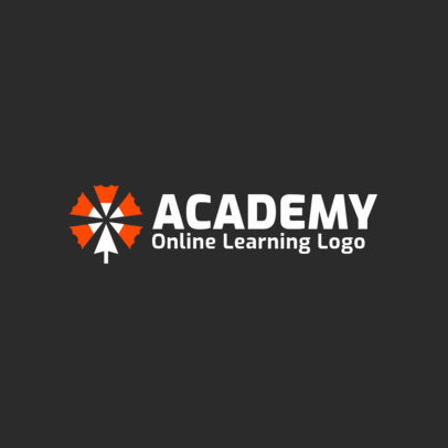 Education Logo Maker for Virtual Academies 3979