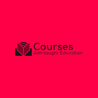 Logo Template for Self Taught Courses 3979b
