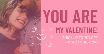 Facebook Post Template for a Valentine's Day Limited-Time Offer 3302i