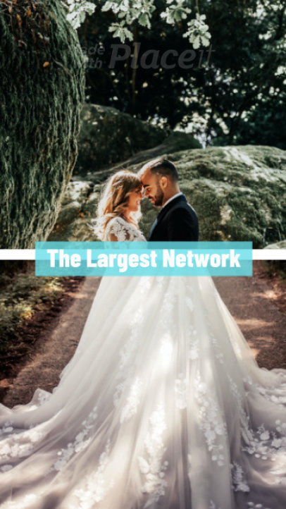 Instagram Story Video Maker for a Wedding Vendors Network 1674e-2683