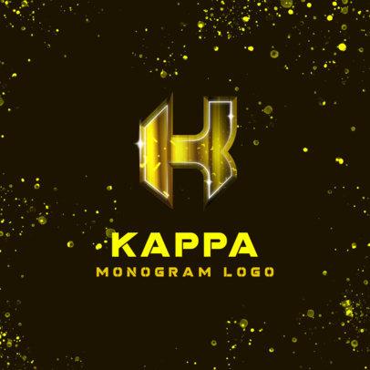 Monogram Logo Maker with Trendy Typography 4013c