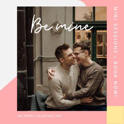 Instagram Post Generator for a Romantic Photoshoot 3430d-el1