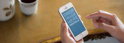 iPhone 5s Gold Furniture Shop Wide