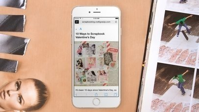 iPhone 6: Making Scrapbook (With Gestures)