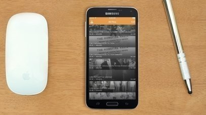 Samsung Galaxy in Workgroup (With Gestures)