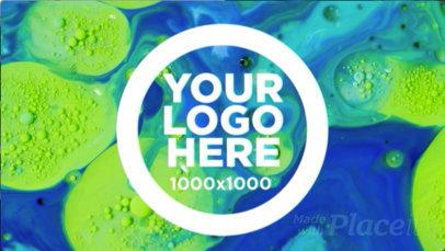 Logo Animation - Logo Behind Liquid a17737b