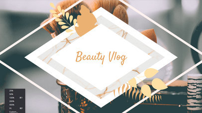 Text Animation Maker for a Beauty Vlogger 250