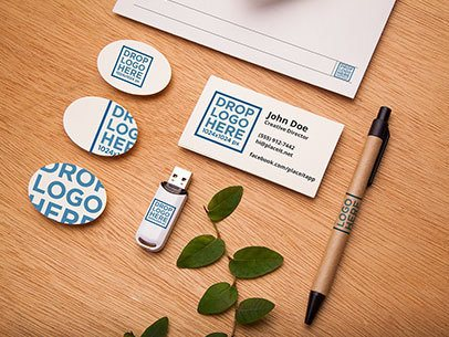 Branding Mockup Featuring a Wide Range of Stationery Items a6534