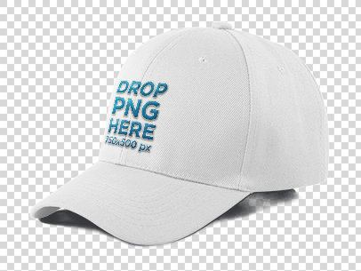 Dad Hat Mockup Over a Null Background a11707