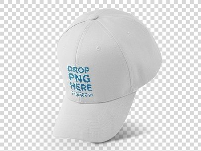 Dad Hat Mockup Over a PNG Background a11750