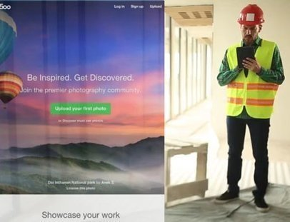 App Demo Video of a Construction Manager Using his iPad 9109