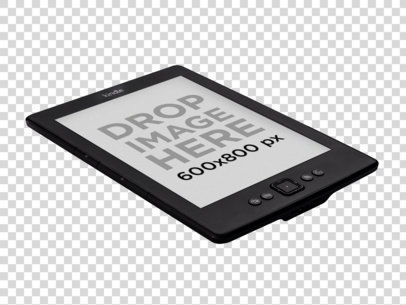 Amazon Kindle Mockup on a Plain Surface 11816