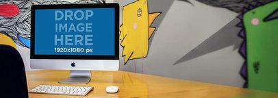 iMac Mockup Template at a Creative Studio